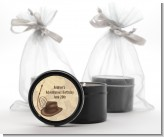 Adventure - Birthday Party Black Candle Tin Favors