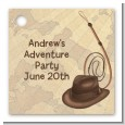 Adventure - Personalized Birthday Party Card Stock Favor Tags thumbnail