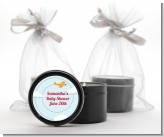 Airplane in the Clouds - Birthday Party Black Candle Tin Favors
