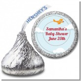 Airplane in the Clouds - Hershey Kiss Birthday Party Sticker Labels