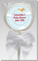 Airplane in the Clouds - Personalized Baby Shower Lollipop Favors