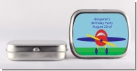 Airplane - Personalized Birthday Party Mint Tins