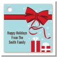 All Wrapped Up Gifts - Personalized Christmas Card Stock Favor Tags thumbnail