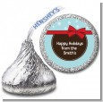 All Wrapped Up Gifts - Hershey Kiss Christmas Sticker Labels thumbnail