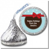 All Wrapped Up Gifts - Hershey Kiss Christmas Sticker Labels