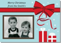 All Wrapped Up Gifts - Personalized Photo Christmas Cards