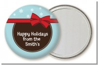 All Wrapped Up Gifts - Personalized Christmas Pocket Mirror Favors