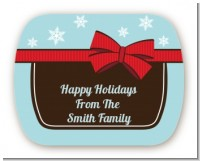 All Wrapped Up Gifts - Personalized Christmas Rounded Corner Stickers