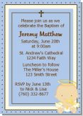 Angel Boy - Baptism / Christening Invitations