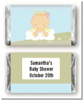 Angel in the Cloud Girl - Personalized Baby Shower Mini Candy Bar Wrappers
