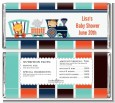 Animal Train - Personalized Baby Shower Candy Bar Wrappers thumbnail