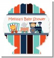 Animal Train - Personalized Baby Shower Centerpiece Stand thumbnail