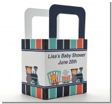 Animal Train - Personalized Baby Shower Favor Boxes