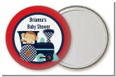 Animal Train - Personalized Baby Shower Pocket Mirror Favors