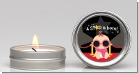 A Star Is Born Baby - Baby Shower Candle Favors