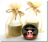 A Star Is Born Baby - Baby Shower Gold Tin Candle Favors