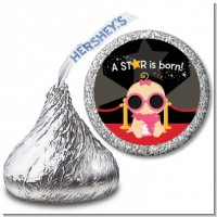 A Star Is Born Baby - Hershey Kiss Baby Shower Sticker Labels