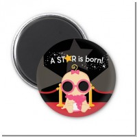 A Star Is Born Baby - Personalized Baby Shower Magnet Favors