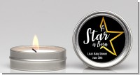 A Star Is Born - Baby Shower Candle Favors
