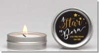 A Star Is Born Gold - Baby Shower Candle Favors
