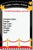 A Star Is Born Hollywood Baby Prediction - Baby Shower Game Card