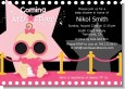 A Star Is Born Hollywood Black|Pink - Baby Shower Invitations thumbnail