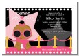 A Star Is Born Hollywood Black|Pink - Baby Shower Petite Invitations thumbnail