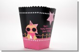 A Star Is Born Hollywood Black|Pink - Personalized Baby Shower Popcorn Boxes