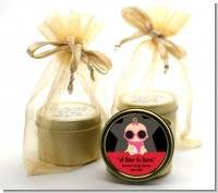 A Star Is Born Hollywood - Baby Shower Gold Tin Candle Favors