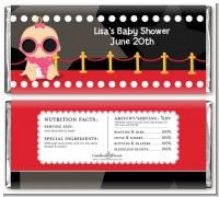 A Star Is Born Hollywood - Personalized Baby Shower Candy Bar Wrappers