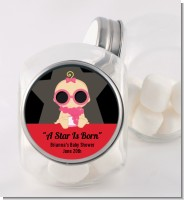 A Star Is Born Hollywood - Personalized Baby Shower Candy Jar