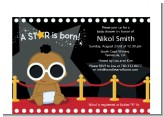 A Star Is Born Hollywood - Baby Shower Petite Invitations