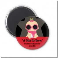 A Star Is Born Hollywood - Personalized Baby Shower Magnet Favors