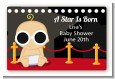 A Star Is Born Hollywood - Baby Shower Landscape Sticker/Labels thumbnail