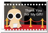 A Star Is Born Hollywood - Baby Shower Thank You Cards