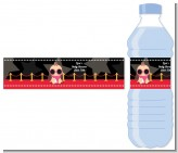 A Star Is Born Hollywood - Personalized Baby Shower Water Bottle Labels