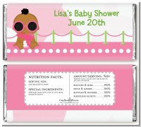A Star Is Born Hollywood White|Pink - Personalized Baby Shower Candy Bar Wrappers