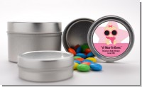 A Star Is Born Hollywood White|Pink - Custom Baby Shower Favor Tins
