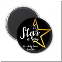 A Star Is Born - Personalized Baby Shower Magnet Favors