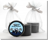 ATV 4 Wheeler Quad - Birthday Party Black Candle Tin Favors