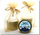 ATV 4 Wheeler Quad - Birthday Party Gold Tin Candle Favors