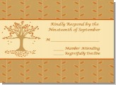 Autumn Tree - Bridal Shower Response Cards
