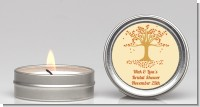 Autumn Tree - Bridal Shower Candle Favors