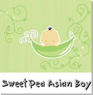 Sweet Pea Asian Boy