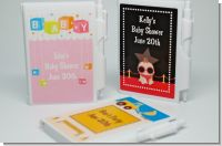 Baby Shower Notebook Favors