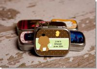 Baby Neutral African American - Personalized Baby Shower Mint Tins