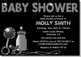 Baby Bling - Baby Shower Invitations