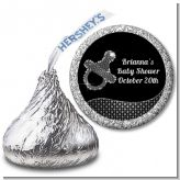 Baby Bling Pacifier - Hershey Kiss Baby Shower Sticker Labels