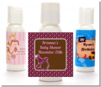 Baby Bling Pink - Personalized Baby Shower Lotion Favors