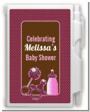 Baby Bling Pink - Baby Shower Personalized Notebook Favor